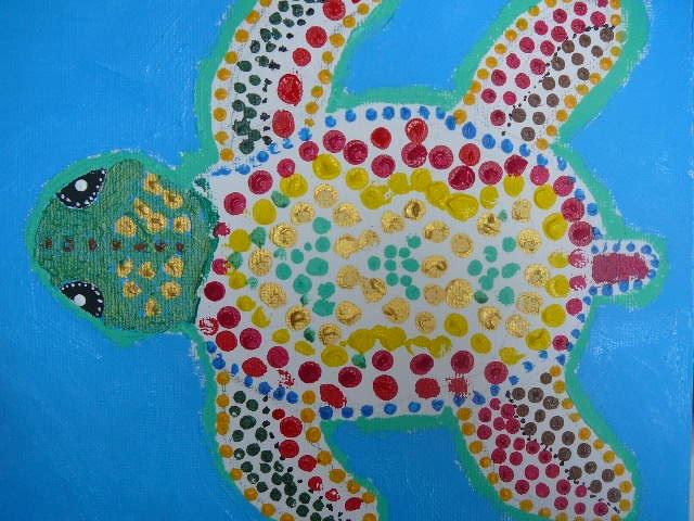 Aboriginal dot-painting