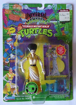 1994 tmnt #teenage mutant ninja turtles figure #april #bride of frankenstein - mi,  View more on the LINK: http://www.zeppy.io/product/gb/2/201700349612/