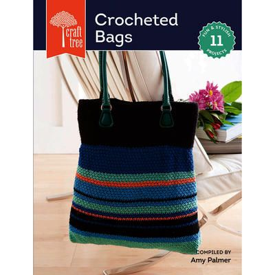 Crochet Work Bags : Crocheted Bags by Interweave Press allows you to work up 11 fantastic ...