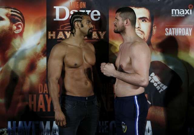 Haye spuckt vor Gjergjaj-Fight grosse Töne: «Ich werde Arnold ausknocken»   Blick