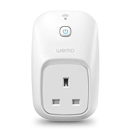 Belkin WeMo Smart Home avec Insight Interrupteur à distance de surveillance d'énergie pour Apple iPhone et appareils Android (contrôle par…