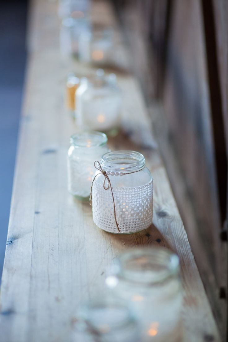 More of my Rebellious design jars from our wedding reception. <3