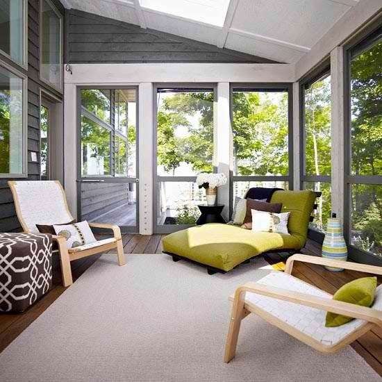 Fresh Enclosed Patio Sunroom