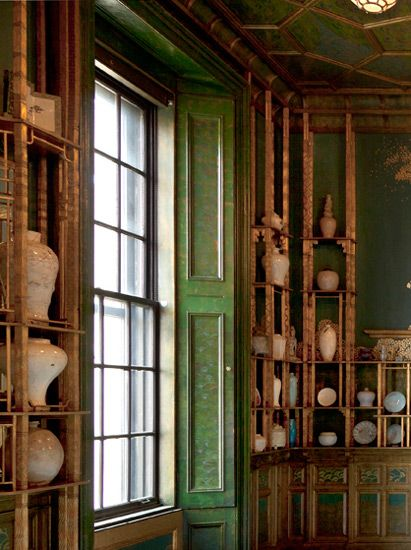 Enter digital recreations of the Peacock Room at two historical moments (Victorian London and Detroit in the Gilded Age) and learn more about the diverse Asian ceramics on its shelves. http://peacockroom.wayne.edu/visit F1904.61