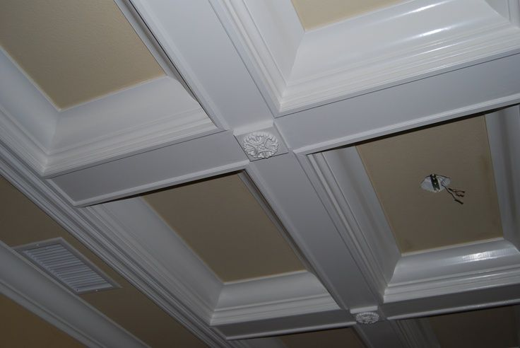 11 best crawford ceiling images on pinterest for the for Foam coffered ceiling