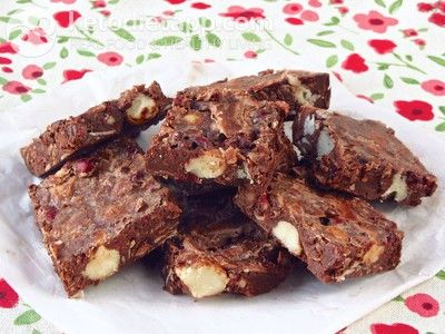 """Coconut chocolate indulgence (low-carb, paleo). Another """"fat-bomb"""" type LCHF recipe from KetoDiet for the iPad, KetoDiet Basic for the iPhone and KetoDiet Kindle book."""