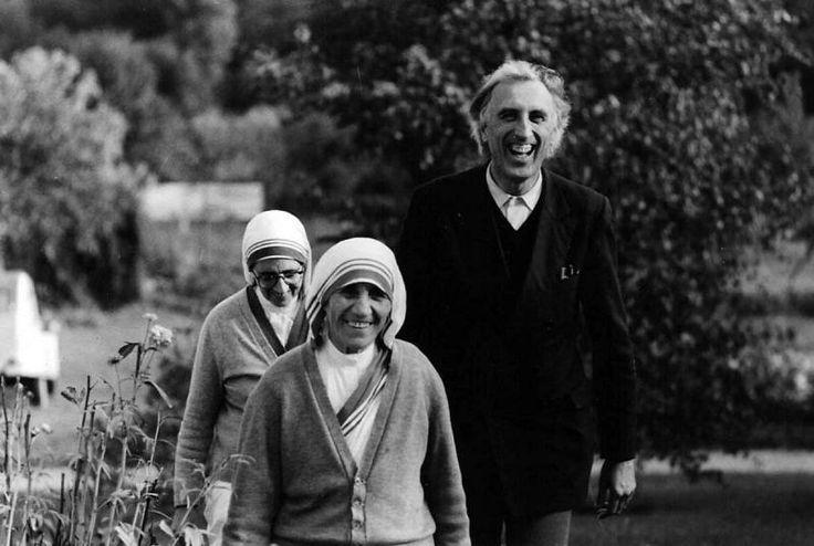 Jubilee time machine: Jean Vanier and Mother Teresa, in 1974