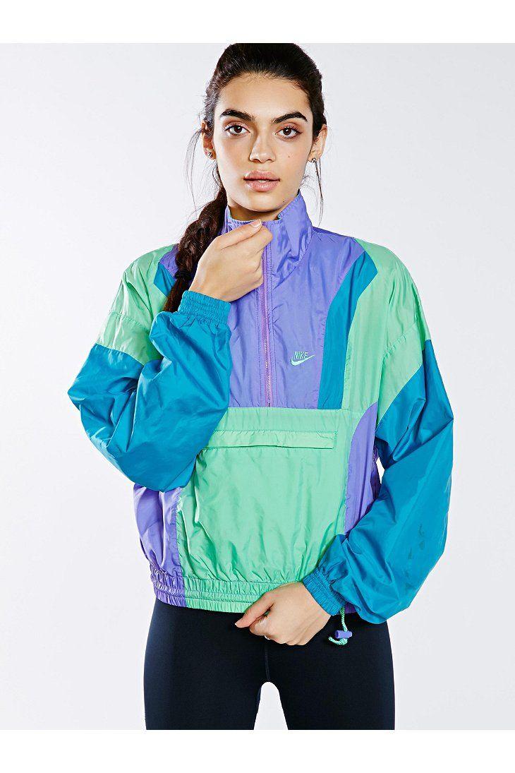 Vintage Pastel Nike Windbreaker Jacket - Urban Outfitters