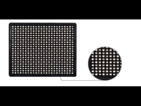 Review of Aputure Portable 528c Led Light Panel
