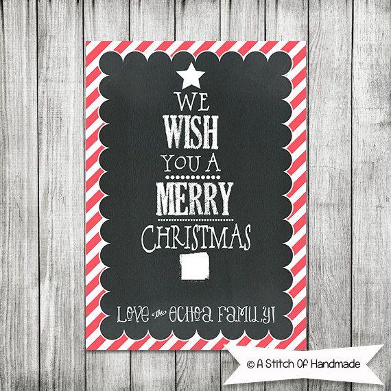 Christmas Card Invite - 5x7 JPG