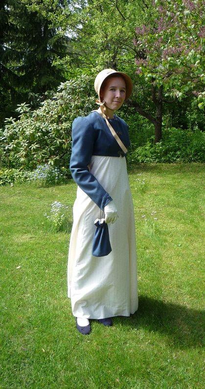 1814 regency gown