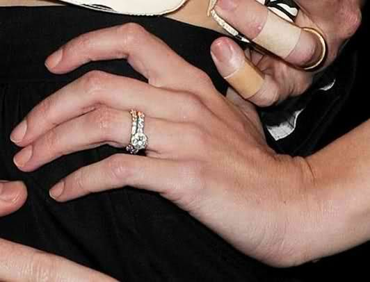 Jaime King Engagement Ring Diamond Bling