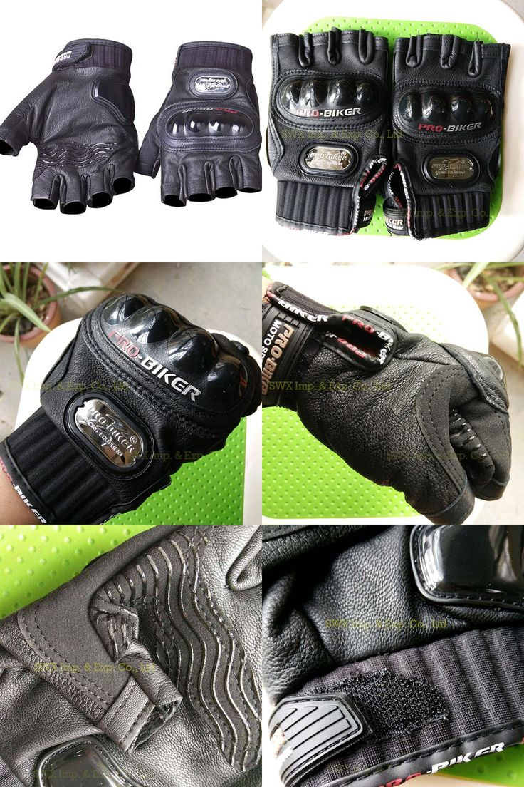 Diavolo leather motorcycle gloves -  Visit To Buy Genuine Leather Motorcycle Gloves Summer Half Finger Pro Biker Genuine