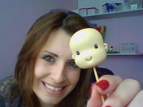 Como fazer uma cabeça simples de biscuit modelo fofinho *u*