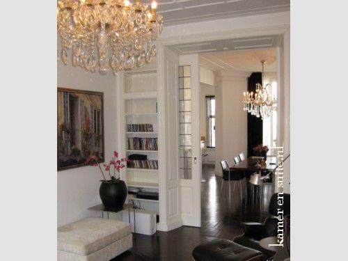 Kamer en suite en dubbel gerookte visgraat vloer