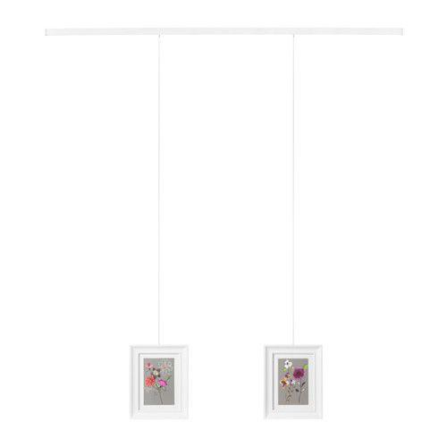 die besten 25 bilderschiene ikea ideen auf pinterest bilderleiste dekorationsleisten und tv. Black Bedroom Furniture Sets. Home Design Ideas
