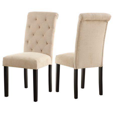 Stylish Dining Room Chairs with Solid Wood Legs, set of 2,Blue