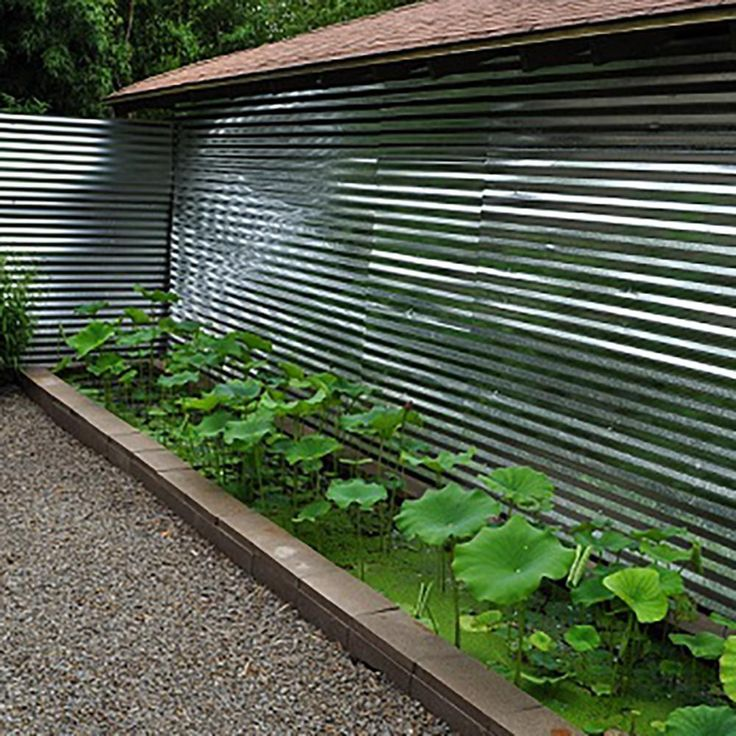 Fabral 8 ft. Galvanized Steel Corrugated Roof Panel
