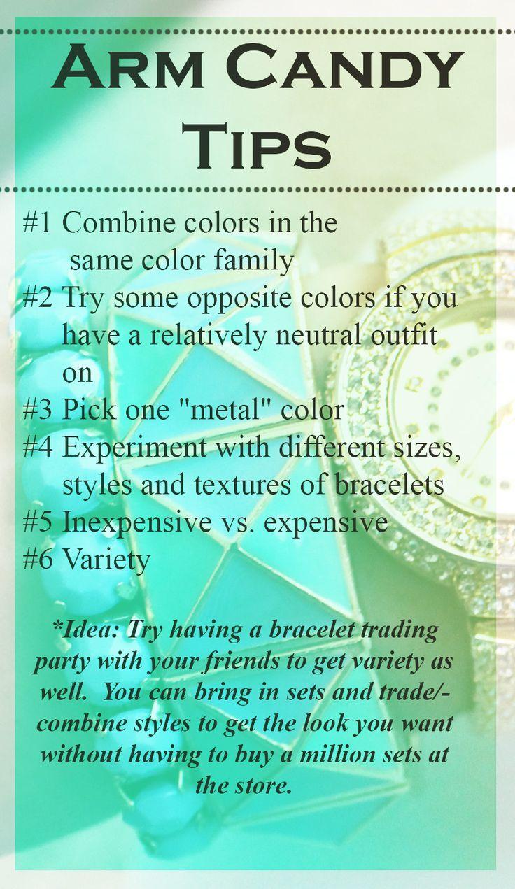 Tips on layering bracelets