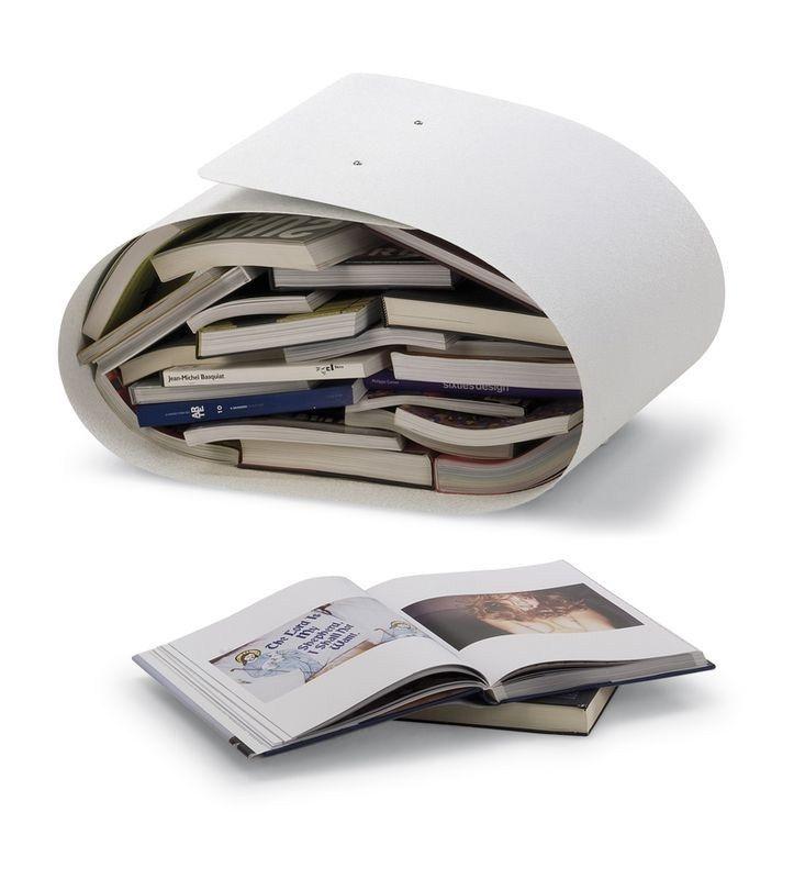 Porte-buches ou revues FLEX blanc - Photographie n°3