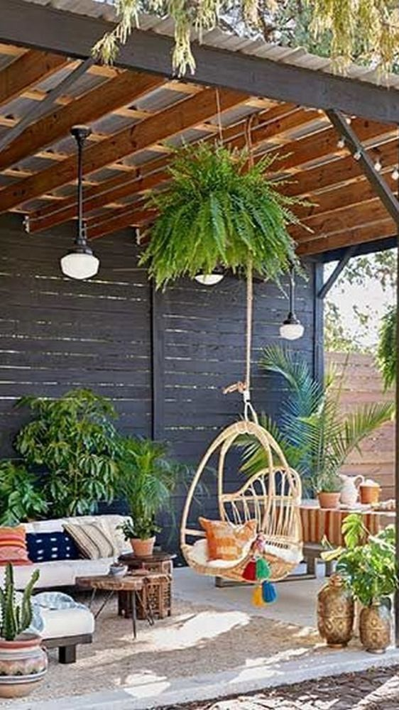Garden Types, Deck Design, Garden Design, Jardim Natural, Garden Beds, Pergola Garden, Backyard Landscaping, Landscaping Design, Garden Seating