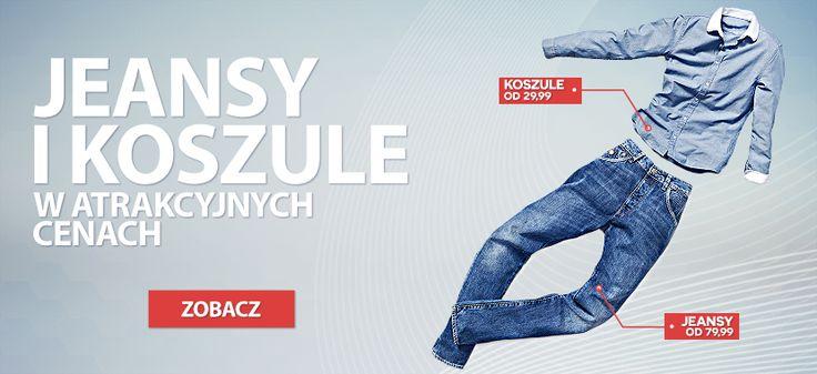 Zobacz Jeansy i Koszule w bardzo atrakcyjnych cenach.  Koszule: http://dstreet.pl/pol_m_ODZIEZ-MESKA_KOSZULE-162.html Jeansy: http://dstreet.pl/pol_m_ODZIEZ-MESKA_SPODNIE_Jeansowe-209.html  #jeans #spodnie #koszule #dstreet