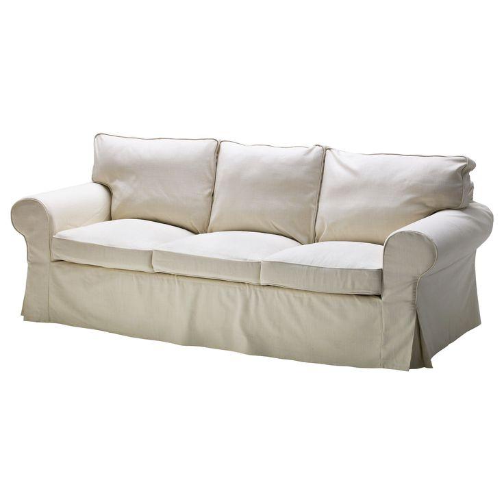 EKTORP Sofa - Svanby beige - IKEA Casual den.