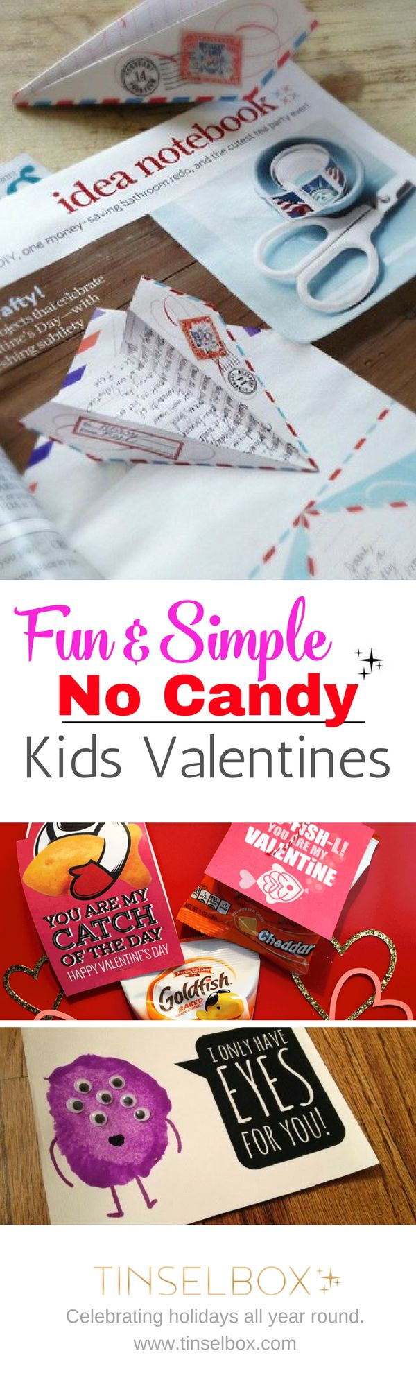 Creative Children's Valentines without Candy