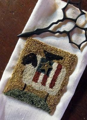 punch needle: Needlepunch, American Flag, Sheep, Punchneedle