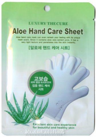 Маска для рук с экстрактом алоэ Beauty Clinic Aloe Hand Care Sheet. 16 мл - купить в Москве, описание, фото, отзывы