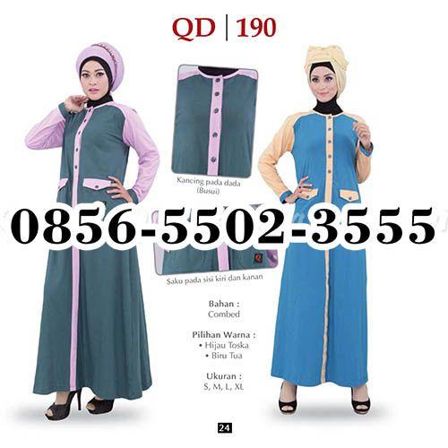 Gamis Qirani Malang, HP.0856-5502-3555,