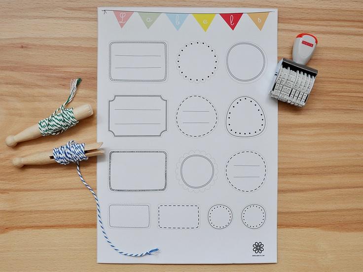 1000 ideas about etiketten aufkleber on pinterest aufkleber drucken anh nger und aufkleber. Black Bedroom Furniture Sets. Home Design Ideas