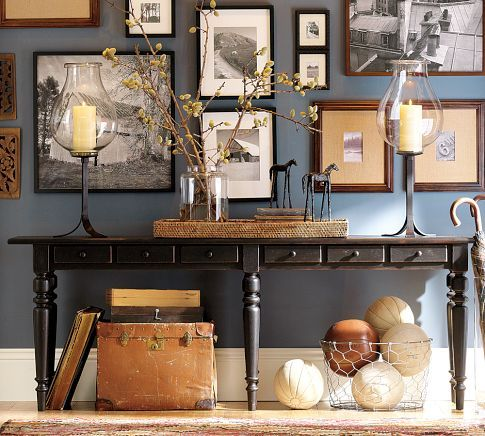 Tivoli Console Table - only console table I can find that is extra wide and would fit behind our extra long couch!