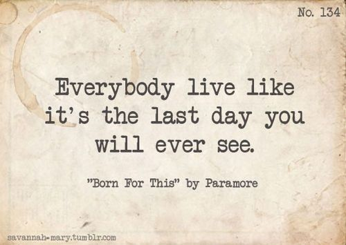 Images of Paramore Lyrics Born For This - #rock-cafe