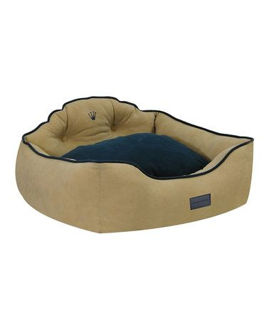 Khaki Courtier Royal Couch Pet Bed #zulilyfinds