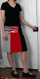 skirt made from old T-shirts: Crafts Ideas, Clothing Ideas, Sewing Projects, Recycled Clothing, Shirts, Projects Ideas, Crafty Sewing, Sewing Ideas, Fabrics Crafts