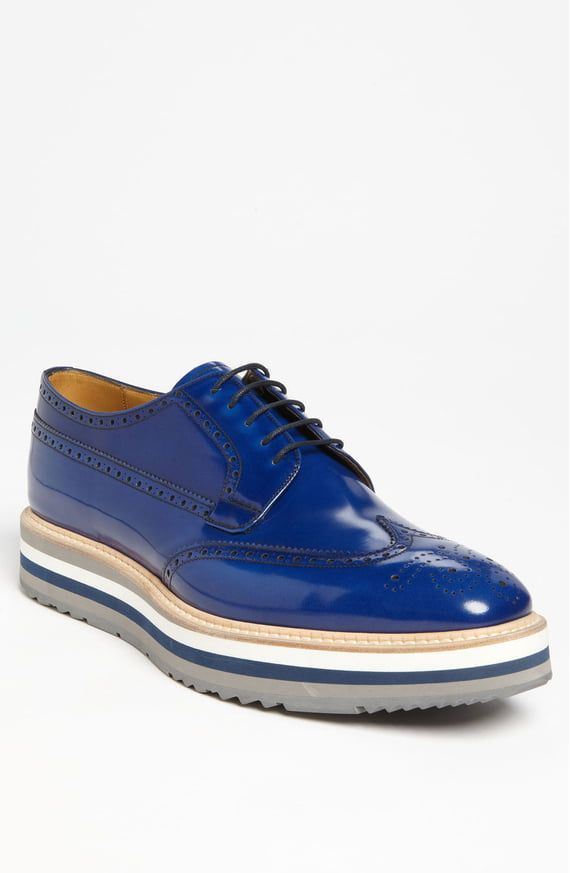 official crazy price new style Prada Triple Sole Wingtip   Nordstrom   Style in 2019   Mens ...