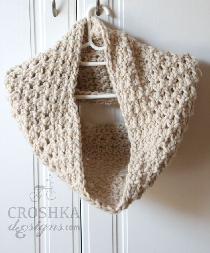 Keep warm and stay styled this #winter with a beautiful chunky wool cowl by Croshka Designs! http://bit.ly/1TVxU4f  #crochet #clothing #knitted