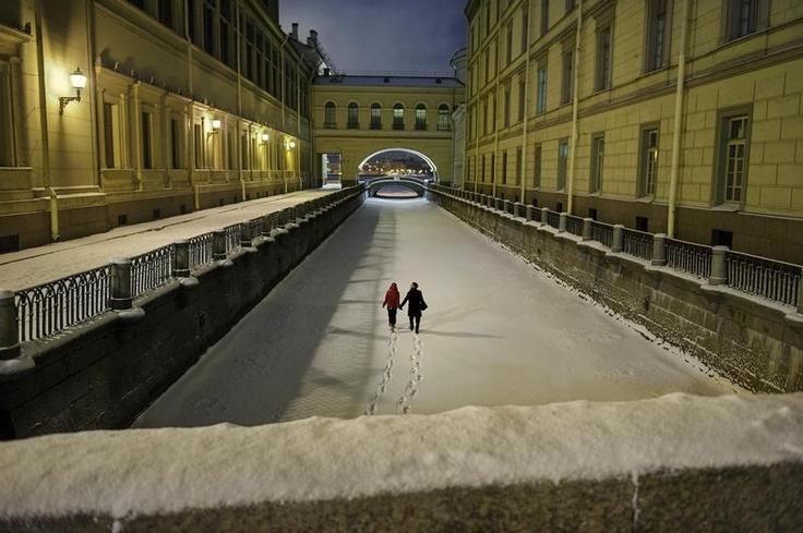 Being romantic in St. Petersburg
