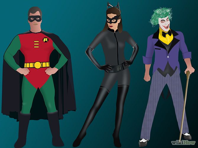 3 Ways to Build Your Own Batman Costume - wikiHow