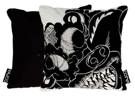 Pillow Gargoyle / designed by Eva Hanzalová / 12,- € / www.vajco.cz