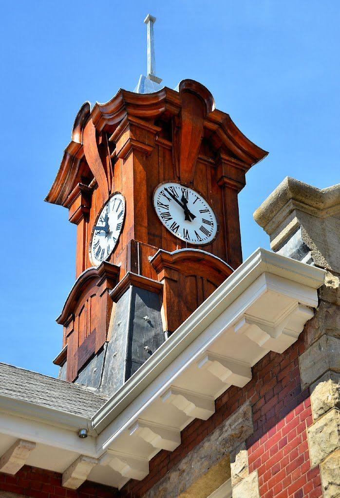 Clock Tower, Muizenberg Station - Cape Town. #Muizenberg