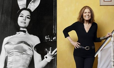 "In 1963, Gloria Steinem created a sensation with the first installment of her two-part series, ""A Bunny's Tale"". Her personal account of going undercover to work as a bunny at the Playboy Club riveted readers, giving them insight into a male bastion that few knew firsthand."