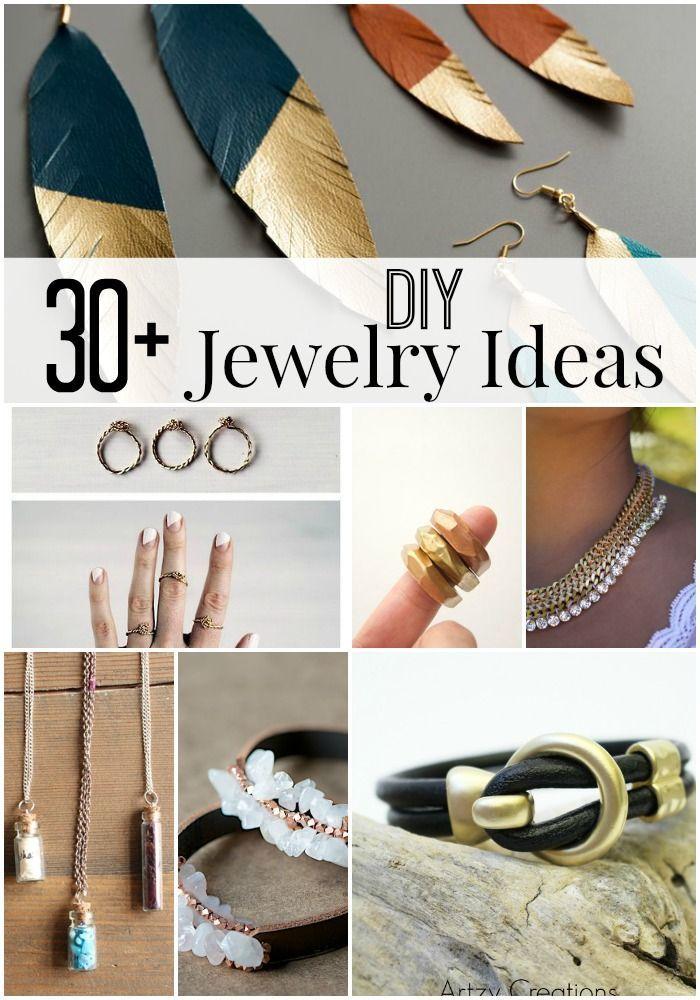 30+ DIY Jewelry Ideas