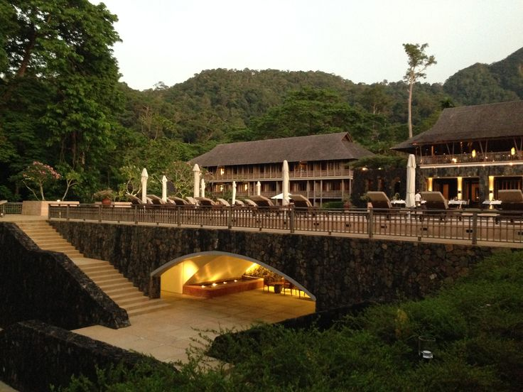 The Pavilion The Datai, Langkawi Authentic Thai in a stunning rainforest setting. #travelnewhorizons