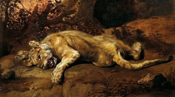 Franz Snyders (Antwerp, 1579-1657), The Lioness, Lichtenstein Museum-Vienna
