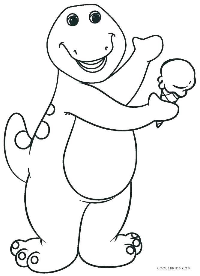 Barney Printable Coloring Pages Barney Printable Coloring Pages