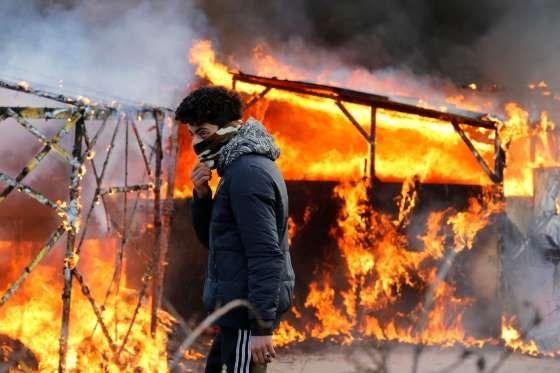 Calais, France - Pascal Rossignol/Reuters