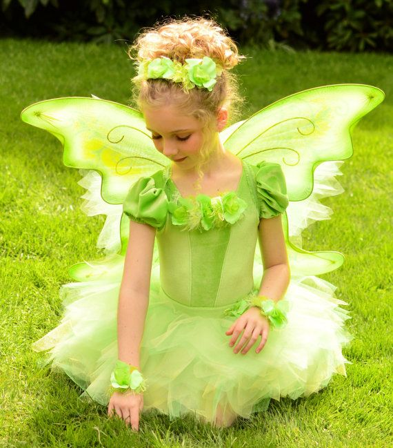 Deluxe Tinkerbell Disney Inspired Puffed Sleeve Fairy by EllaDynae, $200.00