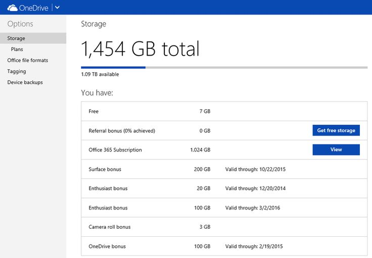 Office 365 subscribers now have access to 1 TB of OneDrive storage #tb #online #storage http://china.remmont.com/office-365-subscribers-now-have-access-to-1-tb-of-onedrive-storage-tb-online-storage/  # Office 365 subscribers now have access to 1 TB of OneDrive storage If you're an Office 365 Home, Personal, or University subscriber, your OneDrive storage just got a big boost. Microsoft announced its plans last month to increase cloud storage to 1 TB for all Office 365 subscribers. Anyone…
